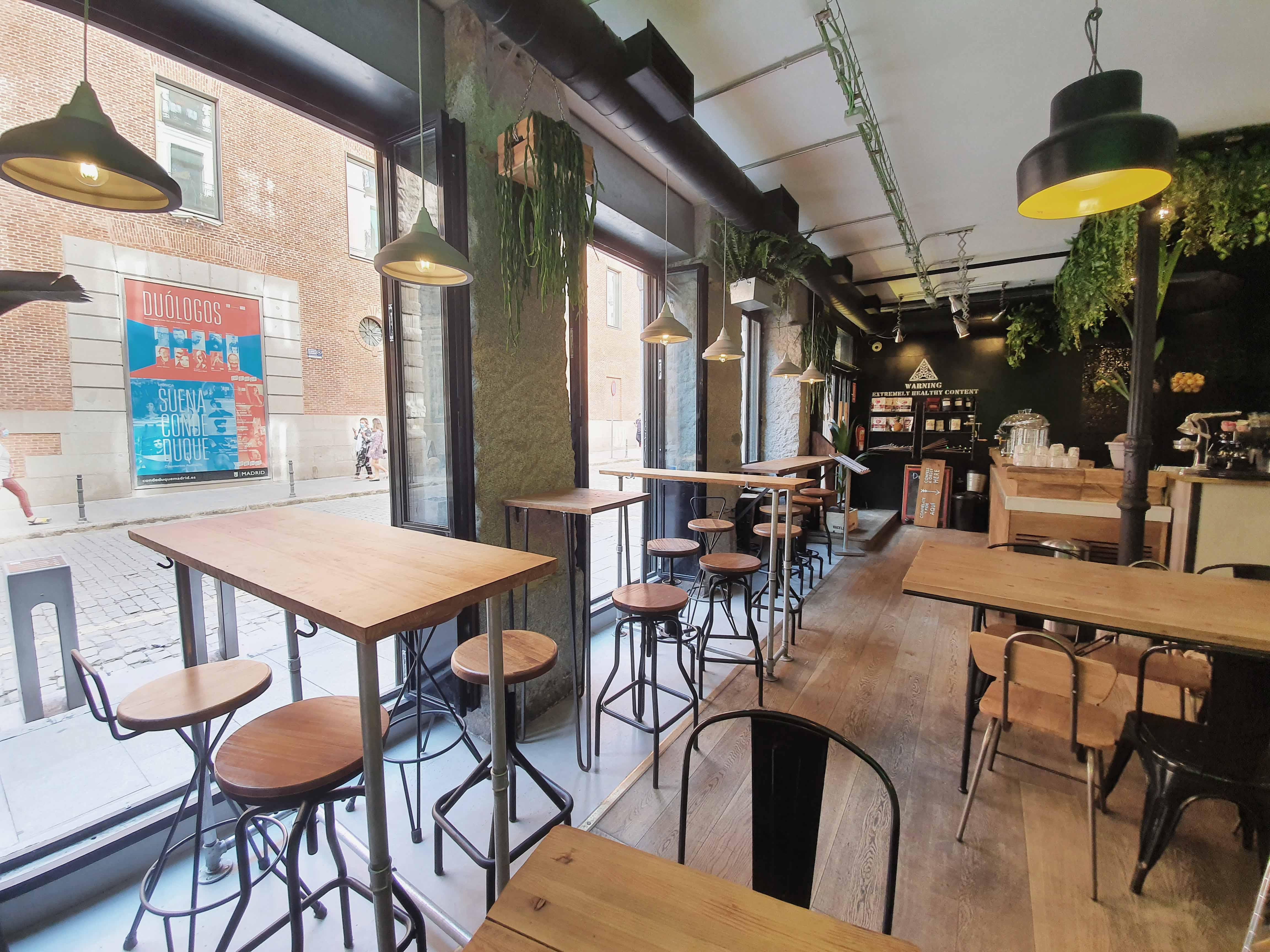 restaurante vegano en Madrid